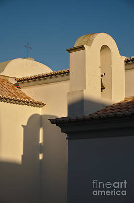 Old Photograph - Chapel Architecture In Albufeira by Angelo DeVal