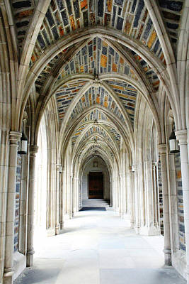 Photograph - Chapel Archway by Jessica Brawley