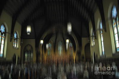 Photograph - Evening Concert - Abstract by Jacqueline M Lewis
