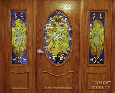 Photograph - Chapel Door by D Hackett