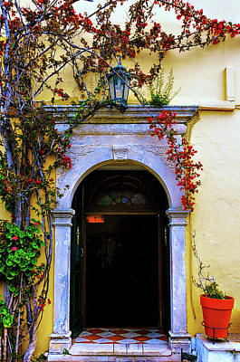 Photograph - Chapel Door by Maria Coulson