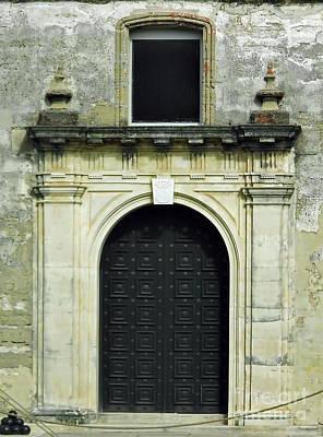 Photograph - Chapel Doors by D Hackett