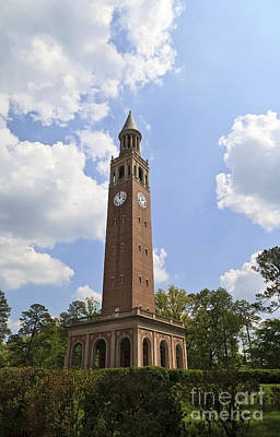 Photograph - Chapel Hill Bell Tower by Jill Lang