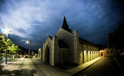 Night Scenes Photograph - Chapel by Hyuntae Kim