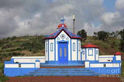 Chapel In Agua De Pau - Azores Art Print by Gaspar Avila