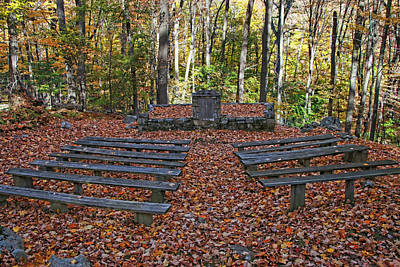 Photograph - The Chapel In The Park by Allen Beatty