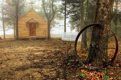 Chapel In The Woods 1 Art Print
