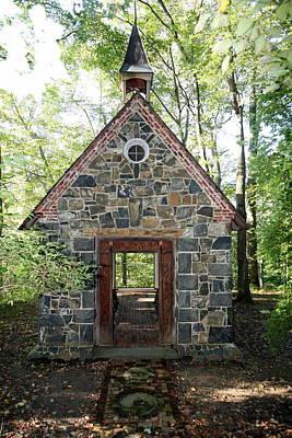 Chapel In The Woods Art Print
