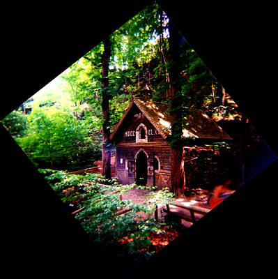 Chapel In The Woods Art Print by Kevin Smith