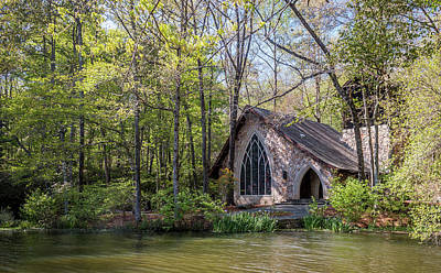 Photograph - Chapel In The Woods by Susie Weaver