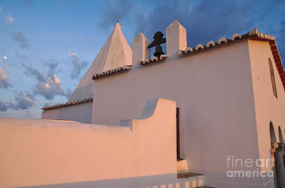 Religion Photograph - Chapel Nossa Senhora Da Rocha At Sunset In Algarve by Angelo DeVal