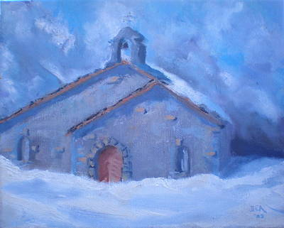Chapel Of Assent Original by Bryan Alexander