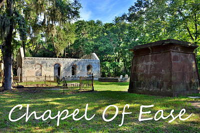 Photograph - Chapel Of Ease by Lisa Wooten