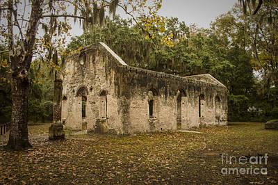 Susan Jones Photograph - Chapel Of Ease On St. Helena Island by Susan Jones