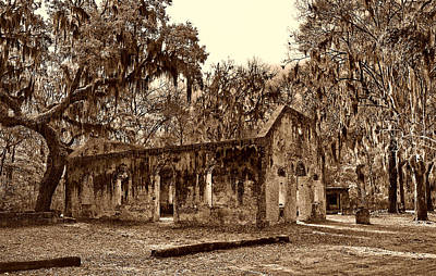 Chapel Of Ease Sc Art Print