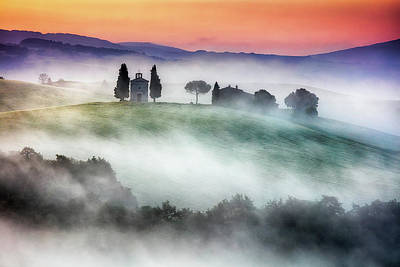 Chapel Of Our Lady Of Vitaleta Art Print by Evgeni Dinev