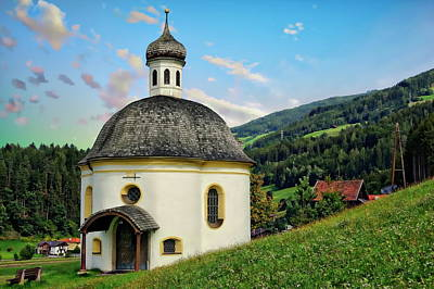 Photograph - Chapel Of Saint Borgias by Anthony Dezenzio