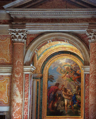 Photograph - Chapel Of The Baptistery by JAMART Photography