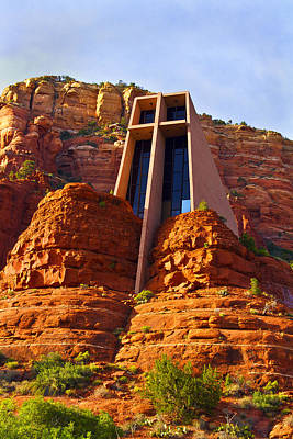 Photograph - Chapel Of The Holy Cross - Sedona by Bill Barber