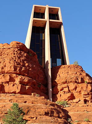 Photograph - Chapel Of The Holy Cross 2 by Robert Meyers-Lussier