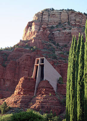 Photograph - Chapel Of The Holy Cross by Ellen Henneke