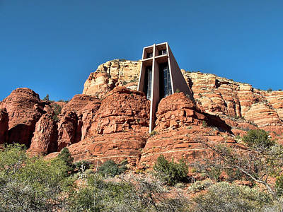 Photograph - Chapel Of The Holy Cross by Judy Vincent