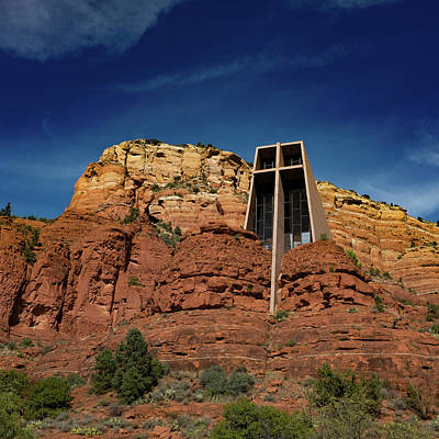 Photograph - Chapel Of The Holy Cross by Ron White
