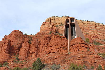 Photograph - Chapel Of The Holy Cross by Samantha Delory