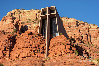 Photograph - Chapel Of The Holy Cross - Sedona - Arizona by Gary Whitton