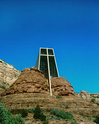 Photograph - Chapel Of The Holy Cross Sedona Arizona by Gary Wonning
