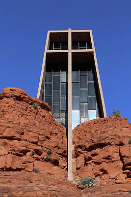 Photograph - Chapel Of The Holy Cross Sedona by Mary Bedy