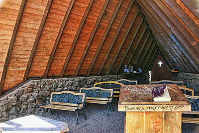 Photograph - Chapel Of The Holy Dove - Flagstaff, A Z # 2 by Allen Beatty