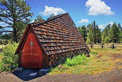 Photograph - Chapel Of The Holy Dove - Flagstaff, A Z  by Allen Beatty
