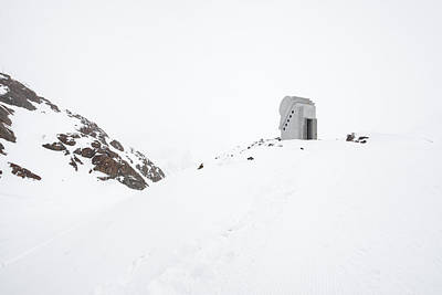 Photograph - Chapel Of The White Light Pitztal Austria by Matthias Hauser