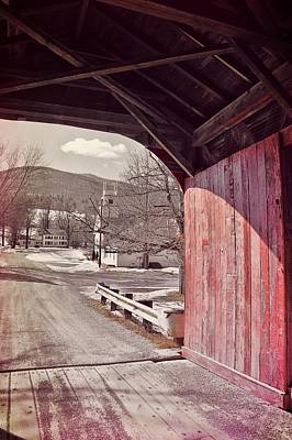 Photograph - Covered Bridge Chapel by JAMART Photography