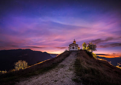 Church On The Hill Photograph - Chapel On The Hill by Evgeni Ivanov