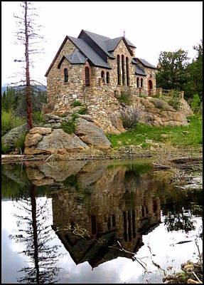 St. Catherine Of Siena Photograph - Chapel On The Rocks by Diane M Dittus