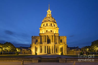 Photograph - Chapel Saint Louis - Paris by Brian Jannsen