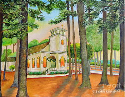 Painting - Chapel by Shelia Kempf
