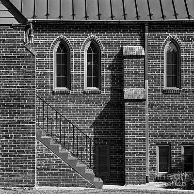 Photograph - Chapel Side Door by Patrick M Lynch