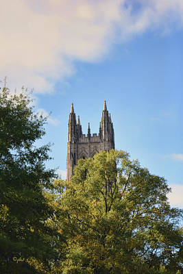 Photograph - Chapel Spires by Paulette B Wright