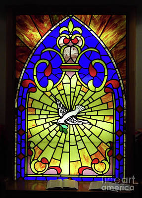 Photograph - Chapel Window by D Hackett