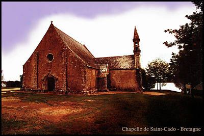 Digital Art - Chapelle De Saint-cado by Franz Roth