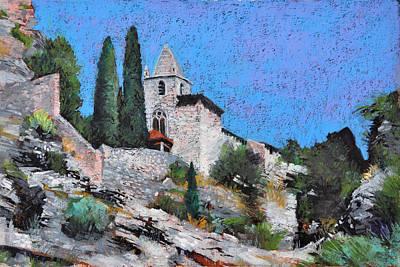 Painting - Chapelle Notre-dame De Beauvoir by Martin Stankewitz