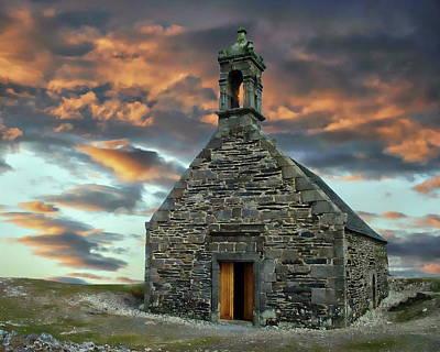 Photograph - Chapelle Saint-michel by Anthony Dezenzio