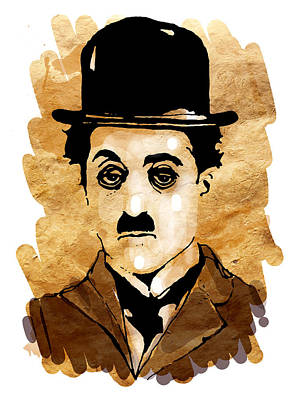 Painting - Chaplin by Paul Sachtleben