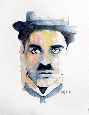 Painting - Chaplin by William Walts