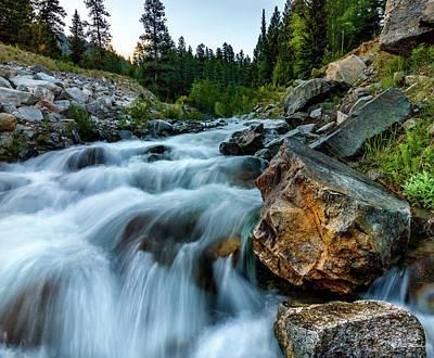 Photograph - Chapman Creek  by Chris Steele