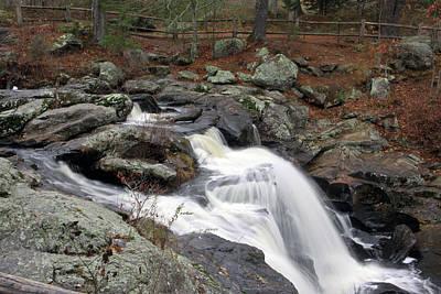 Photograph - Chapman Falls 1 by Gerald Mitchell