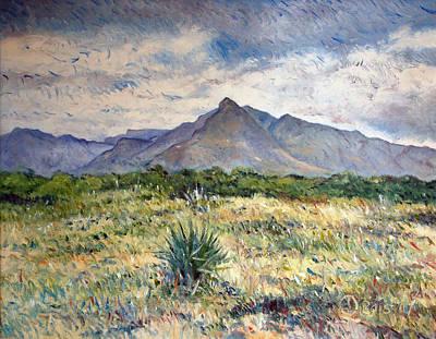 Painting - Chapmans Peak Cape Peninsula South Africa by Enver Larney